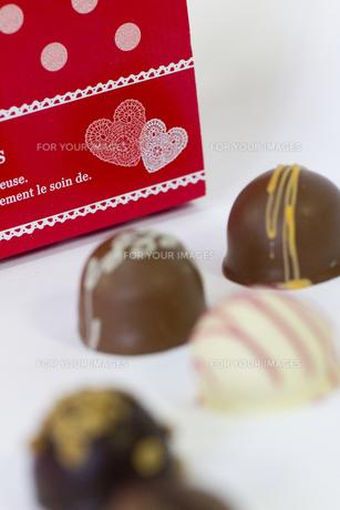 バレンタインチョコレートの素材 [FYI00410995]