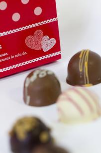 バレンタインチョコレートの写真素材 [FYI00410995]