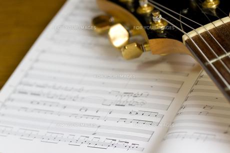 ギターの写真素材 [FYI00411021]