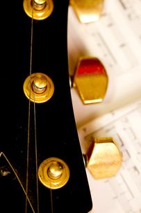 ギターの写真素材 [FYI00411031]