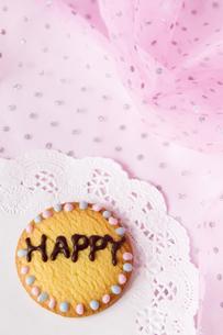 文字入りクッキーの写真素材 [FYI00411064]