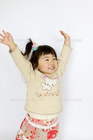 子供ポートレートの写真素材 [FYI00411149]