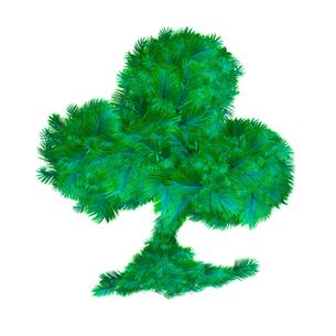 緑の羽根のクローバーの素材 [FYI00411551]