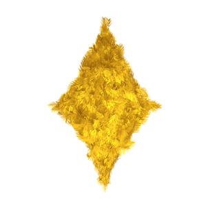 黄色い羽根のダイヤの素材 [FYI00411565]