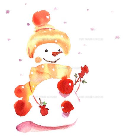 雪だるまの写真素材 [FYI00411588]