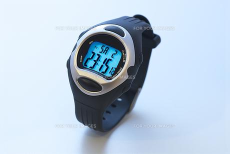 マラソン用腕時計の写真素材 [FYI00411649]