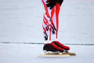 スピードスケートの写真素材 [FYI00411723]