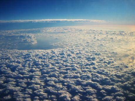 もこもこ雲海の写真素材 [FYI00411751]
