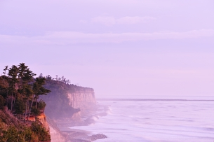 天神岬の朝の写真素材 [FYI00412001]