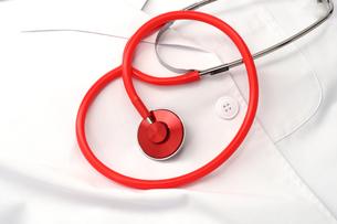 ハートフル医療イメージ 聴診器の写真の写真素材 [FYI00412284]