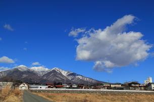八ヶ岳の空の写真素材 [FYI00412826]