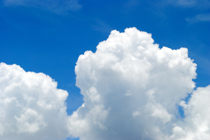 夏雲の写真素材 [FYI00413137]