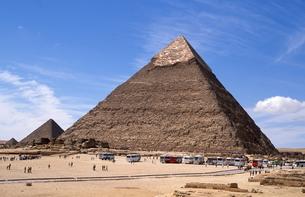 ギザのピラミッドの写真素材 [FYI00413461]