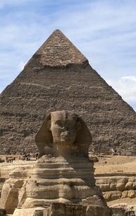 ギザのピラミッドの写真素材 [FYI00413469]