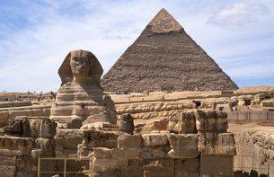 ギザのピラミッドの写真素材 [FYI00413473]