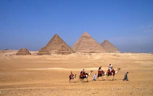 ギザのピラミッドの写真素材 [FYI00413477]