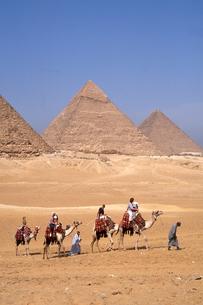 ギザのピラミッドの写真素材 [FYI00413478]