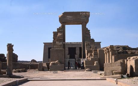 イシス神殿の写真素材 [FYI00413502]