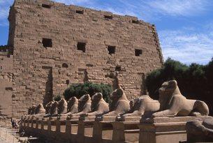 カツナック神殿の写真素材 [FYI00413511]