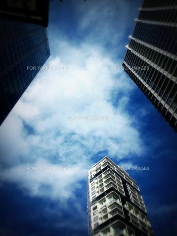 都会の空の素材 [FYI00413612]