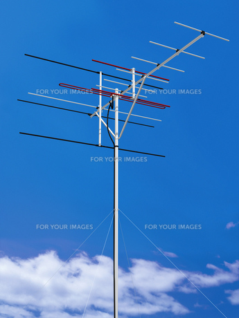 VHFアンテナ・地デジ非対応の写真素材 [FYI00413633]