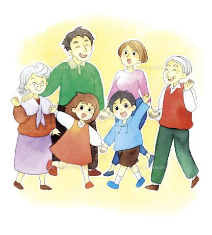 いきいき家族の素材 [FYI00413864]