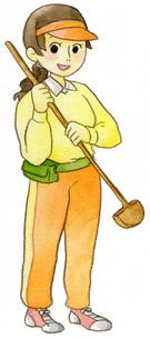 グラウンドゴルフの素材 [FYI00413873]