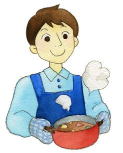 料理男性の素材 [FYI00413876]