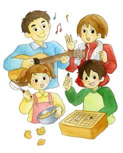 家族で生涯学習の素材 [FYI00413880]