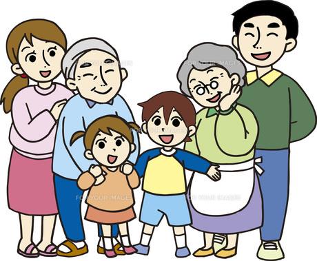 いきいき家族の素材 [FYI00413898]