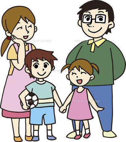 いきいき家族の素材 [FYI00413899]