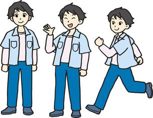 中学・高校の男の子の写真素材 [FYI00413922]