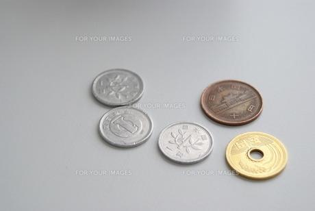 硬貨消費税の写真素材 [FYI00414056]