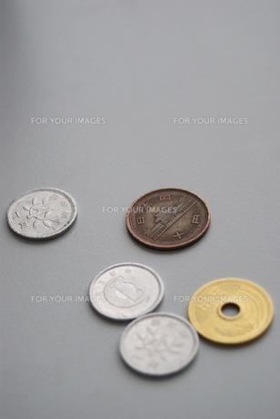 硬貨消費税の写真素材 [FYI00414067]