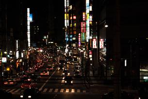 五反田の夜景の写真素材 [FYI00414178]