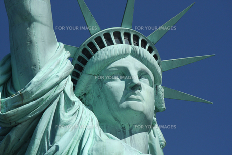 自由の女神 アップの写真素材 [FYI00414192]