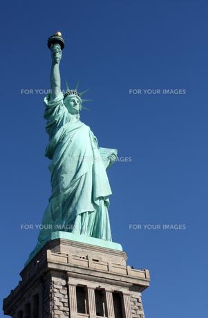 自由の女神 全体の写真素材 [FYI00414218]