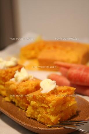 にんじんケーキの写真素材 [FYI00414272]