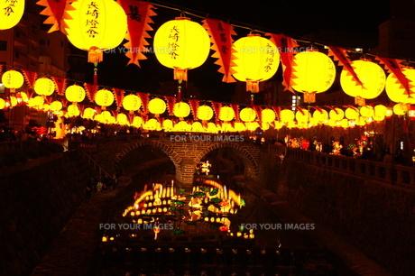 祭りの夜の風景の素材 [FYI00414295]