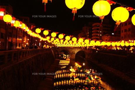 祭りの夜の風景の素材 [FYI00414296]