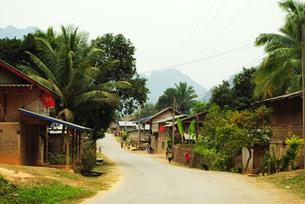 ラオスの農村01の写真素材 [FYI00414565]