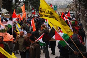 パレスチナ デモ活動の素材 [FYI00414620]