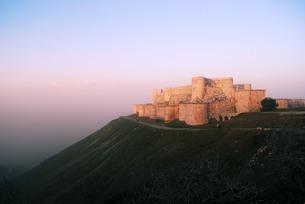 天空の城の写真素材 [FYI00414634]