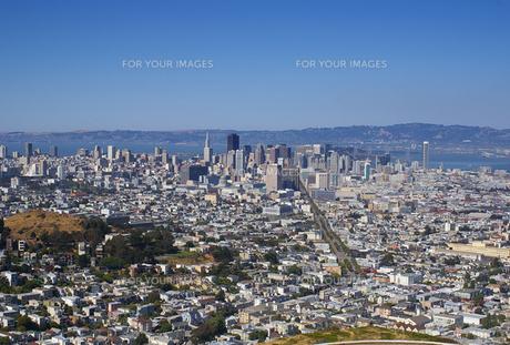 サンフランシスコの街並みの写真素材 [FYI00415031]