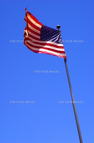 星条旗の写真素材 [FYI00415076]