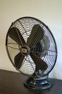 レトロな扇風機の写真素材 [FYI00415109]