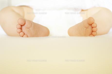 赤ちゃんの足の写真素材 [FYI00415157]