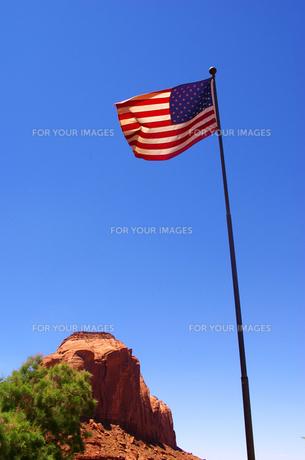 星条旗の写真素材 [FYI00415160]