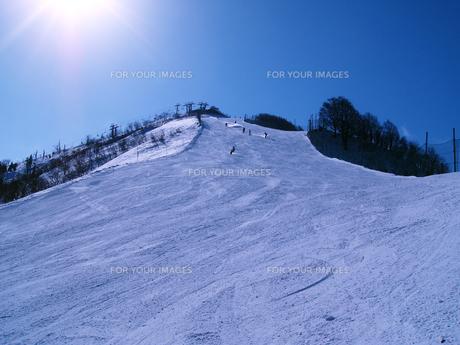 スキー場の写真素材 [FYI00415216]