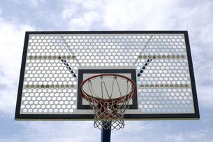 バスケットゴールの写真素材 [FYI00415247]